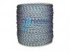 Σχοινί πλεκτό μπλέ για δίχτυα